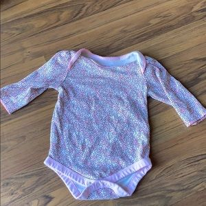 Baby girl flower onesie